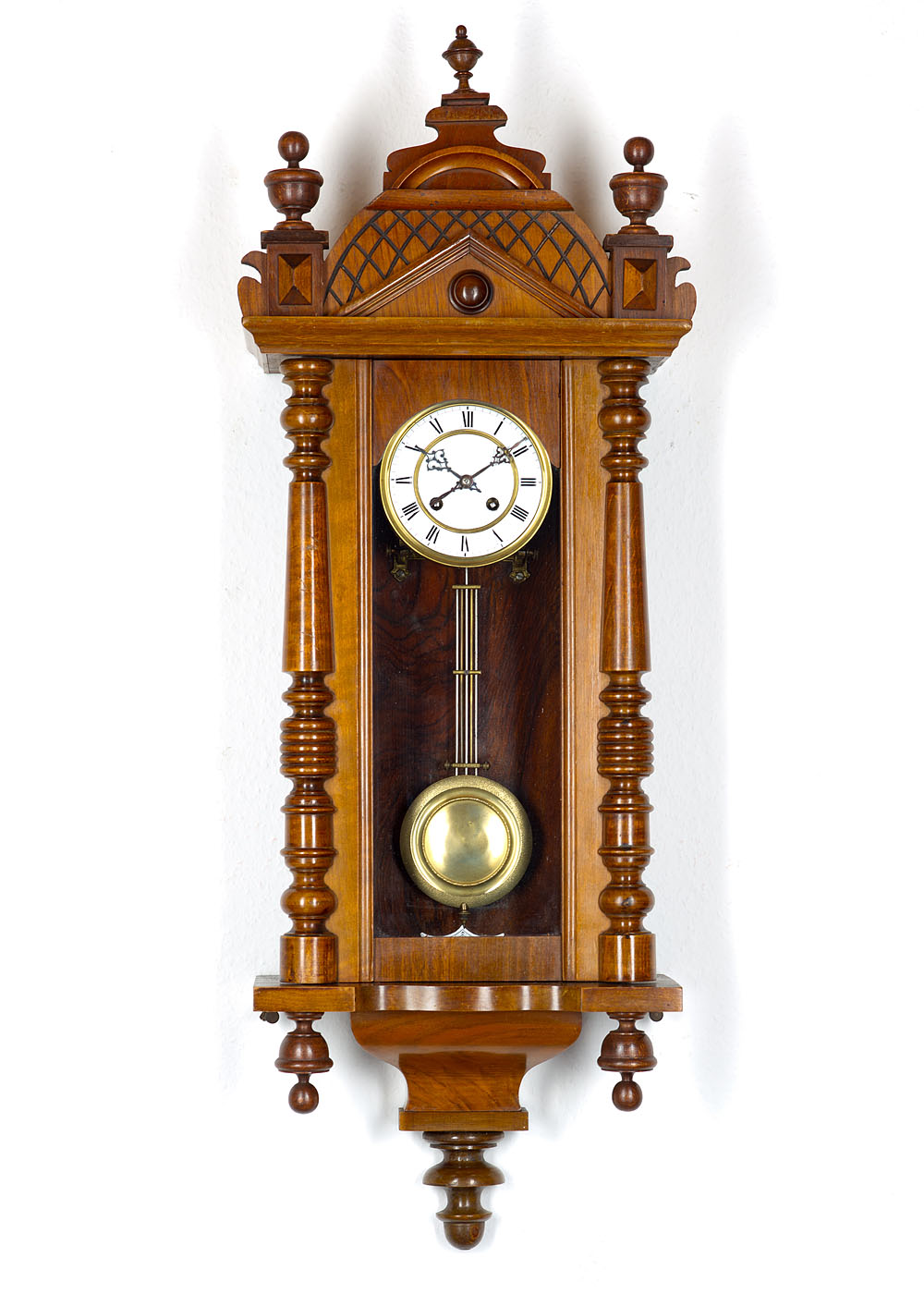 Antiques collectibles kienzle antique clocks - Wall mounted grandfather clock ...