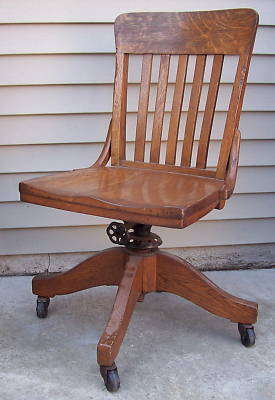 Wooden Excellent Antique Mission Oak Swivel Rocking Office Chair Wests  Antique Wooden Swivel Desk Chair Wooden Chairs
