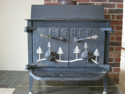 Fisher Grandpa bear wood stove - ready to heat your home - Fisher Grandpa Bear Wood Stove - Ready To Heat Your Home