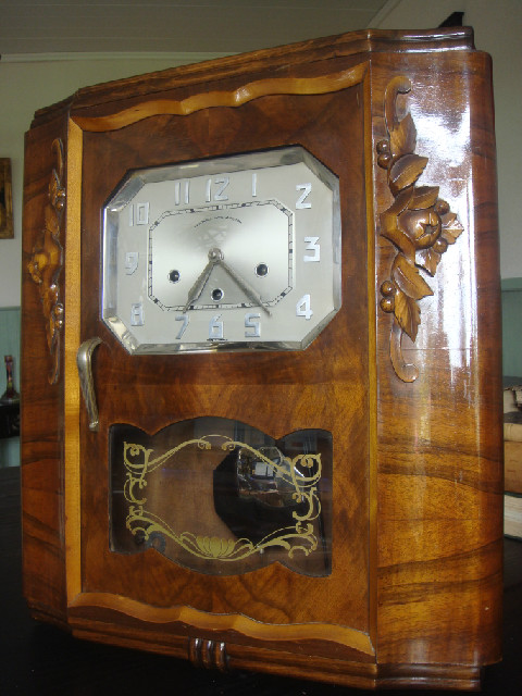 ANTIQUE FRENCH CLOCK - FFR les Fils de F. Romanet � Morbie