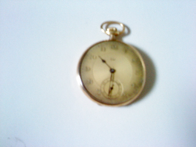 vintage watch by LIP gold plated