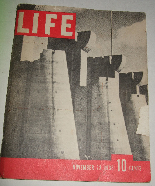 1936 November 23 LIFE Magazine-First Issue