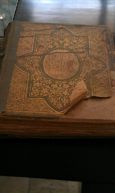 Nineteenth Century Poetry Book Published in 1857