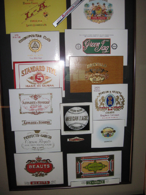 CIGAR labels & bands