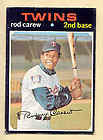 1971 Topps Rod Carew Baseball Card