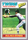 1977 Topps Rod Carew Baseball Card