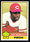 1976 Topps Joe Morgan Baseball Card