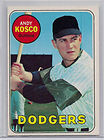 1969 Topps Andy Kosko Baseball Card
