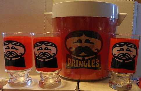 Pringle's Ice Bucket & Glasses