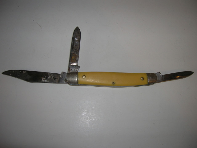 vintage kutmaster pocket knife usa r1