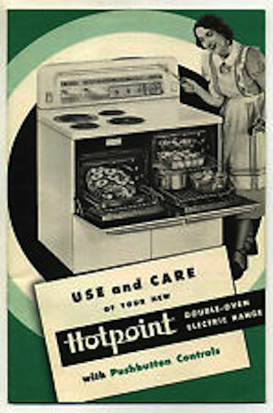 1948 Hotpoint Doube-oven Electric Range model RD5