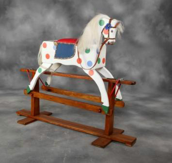 Charming nursery Collinson rocking horse