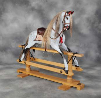 Stevenson Rocking Horse - Quality ENglish wooden rocking horse