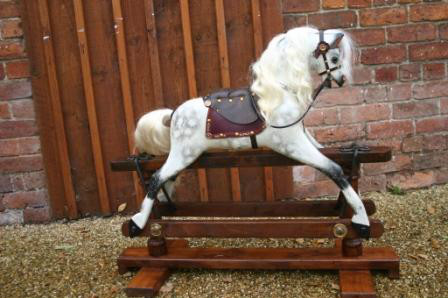 Nursery Rocking Horse - Antique circa 1920