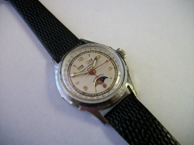 Men's Vintage Baume * Mercier Wrist Watch - Fully Restored