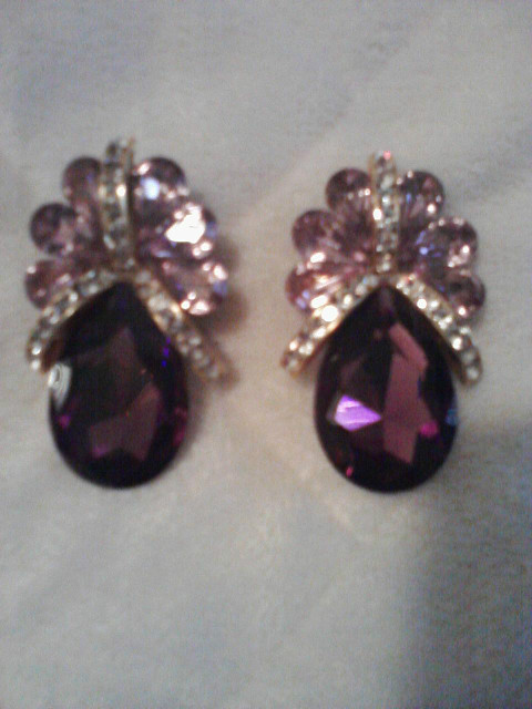 vintage earrings late50s early 60s