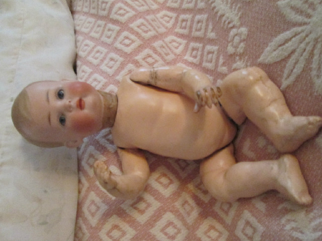 Kestner 10 1/2 Doll Bisque Head Composition Body - Early 1900&#0