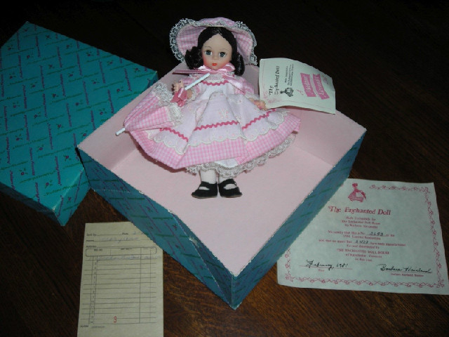 Madame Alexander doll made exclusively for The Enchanted Doll Ho