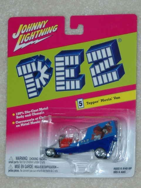 Pez Johnny Lighting Car - Uncle Sam