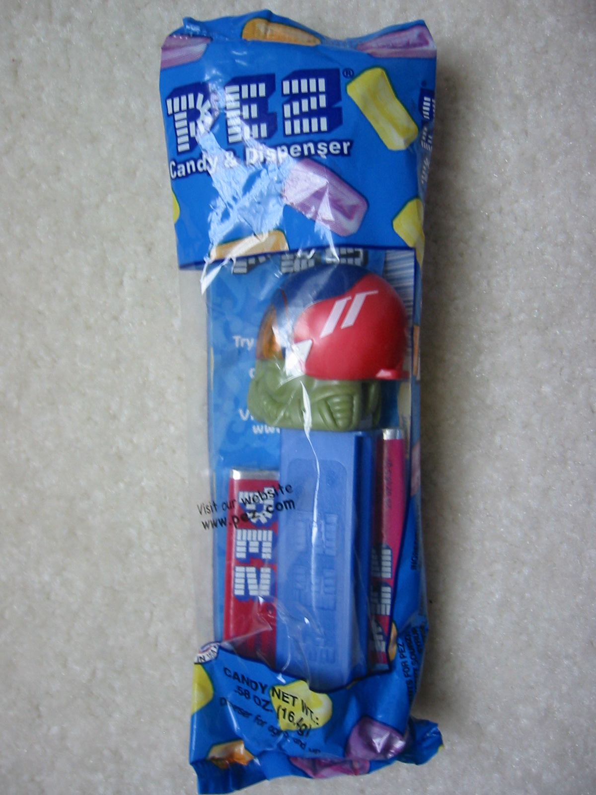 Emergency Heroes Pez - Air Force Pilot (MIB)