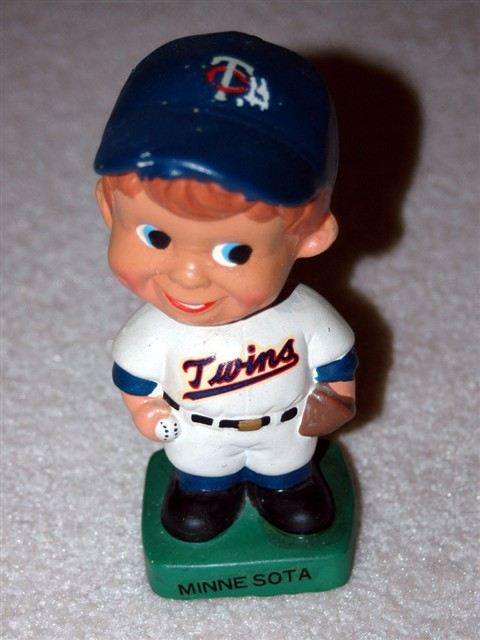 Vintage Minnesota Twins Bobble Head