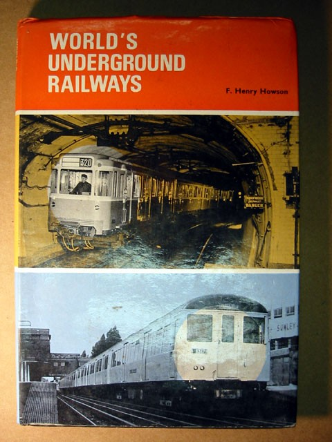 Vintage Underground Railways book
