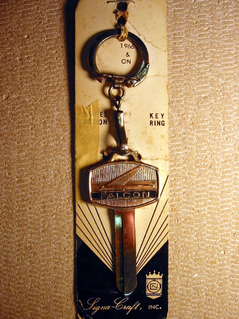 Ford Falcon Insignia Key - 1966 and On