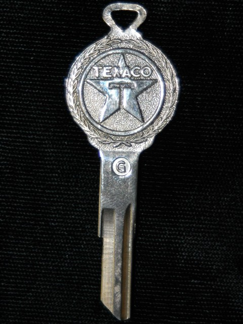 Texaco Logo Key for Hudson, Packard, and Nash
