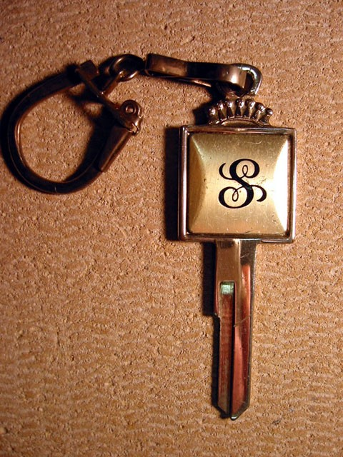 Insignia Signet Crest Key - Ford Vehicles