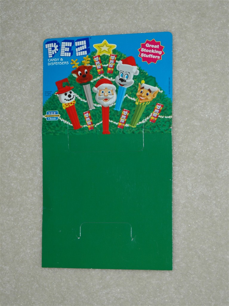 Header Card - Current Christmas Pez Series