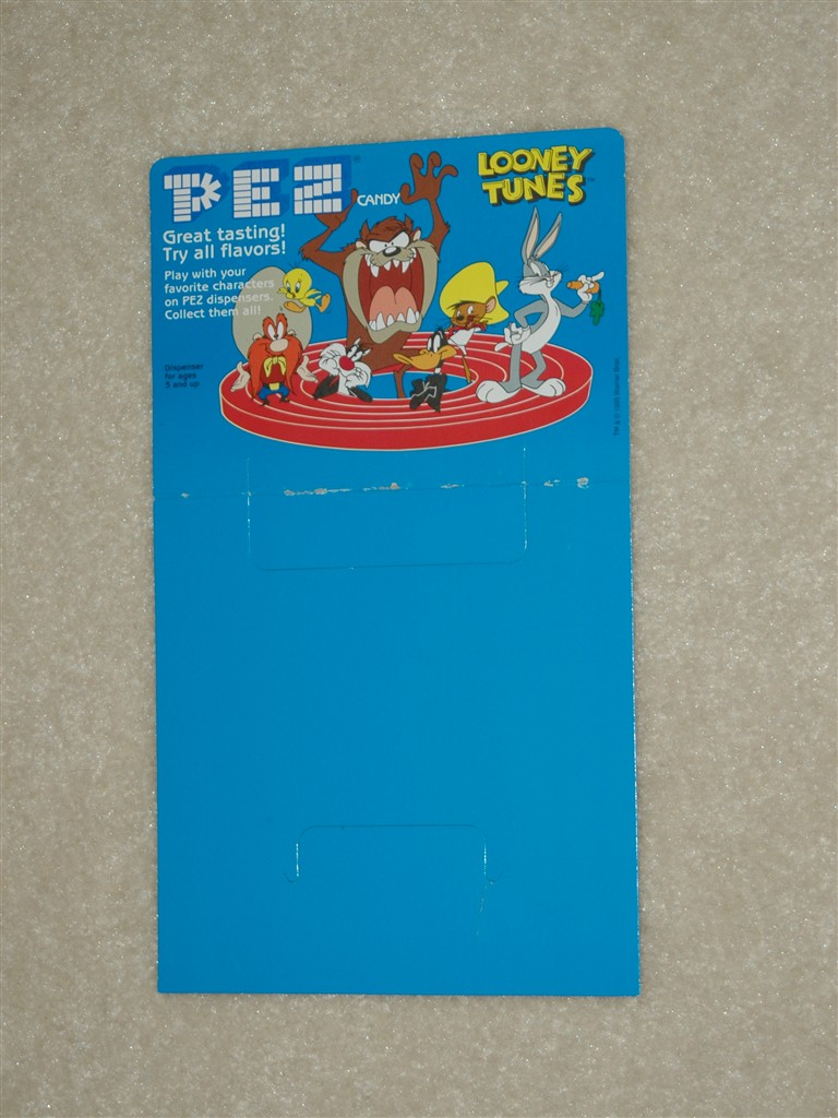 Header Card - Looney Tunes Pez