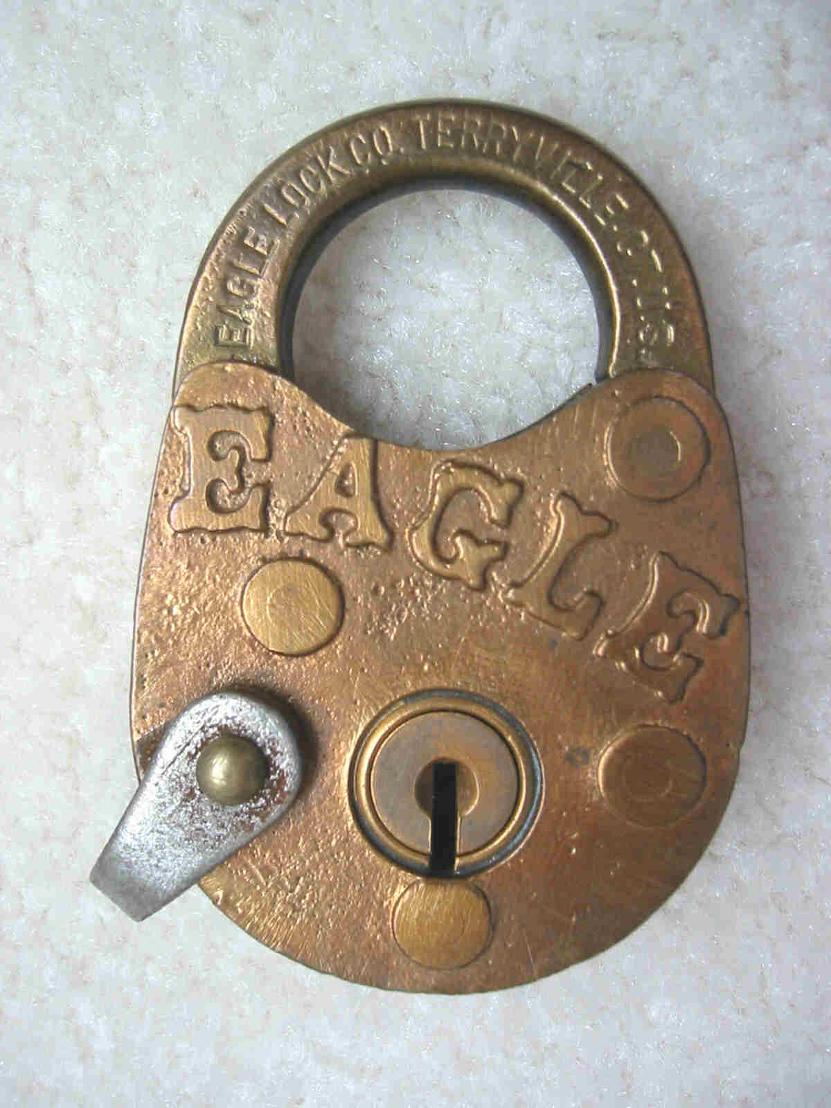 Eagle Solid Brass Padlock