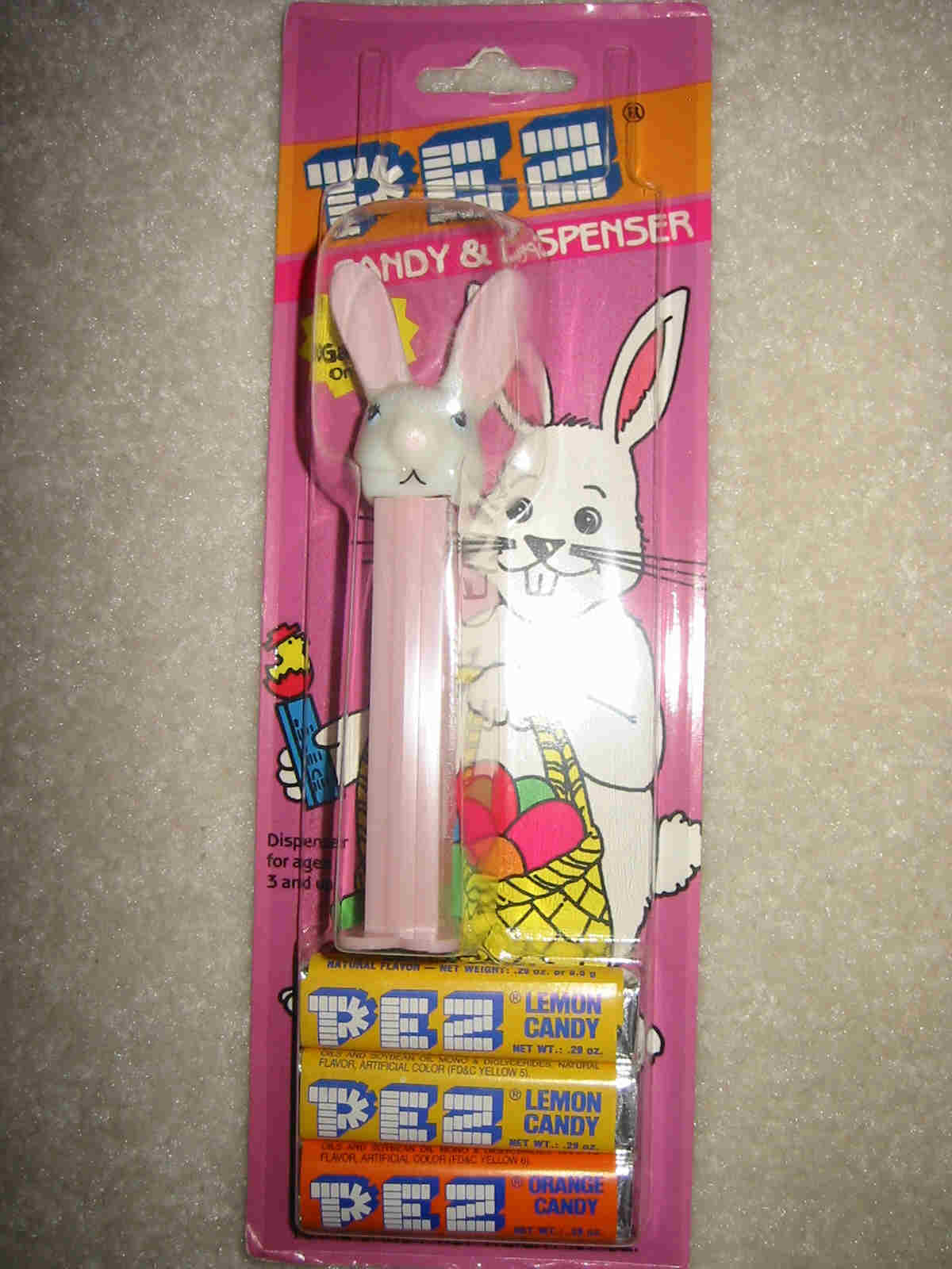 Easter Rabbit Pez - Discontinued Long Ears (MOC)