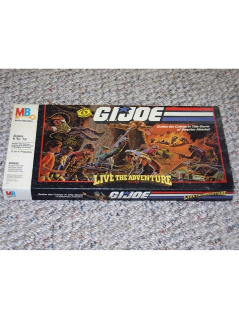 G.I. JOE Live the Adventure Game