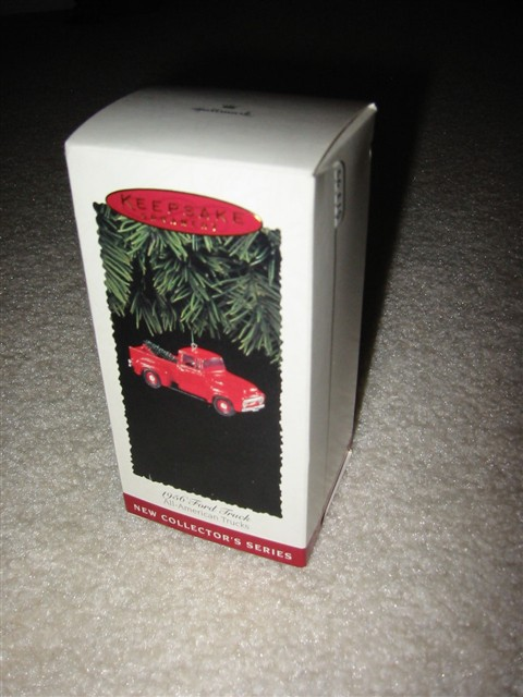 Hallmark Ornament -- 1956 Ford Truck