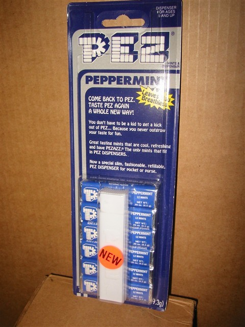 Pez Regular Remake White