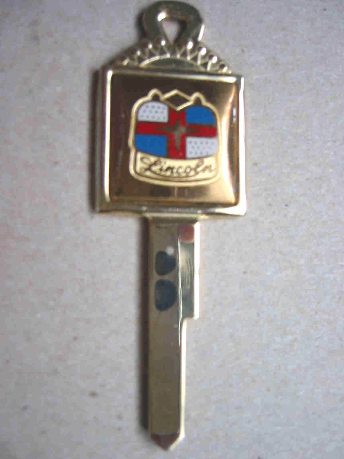 Ford Lincoln Crest Key Blank (1932-1951)