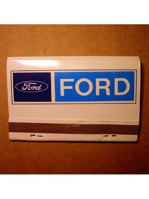 Match Book -- Ford Motor Company
