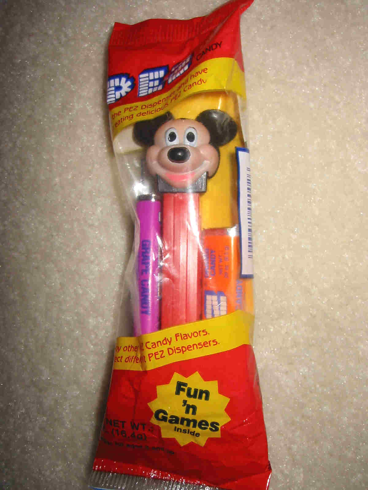 Disney - Mickey Mouse E Pez (MIB)