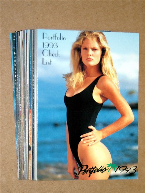 Swimsuit 1993 Portfolio Series 2 Cards