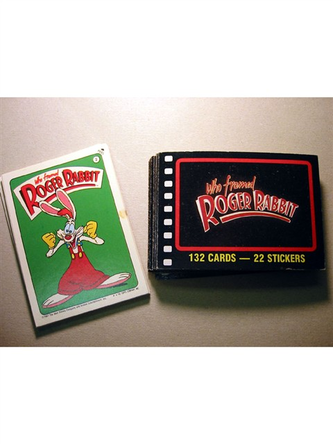 Who Framed Roger Rabbit Collector Cards