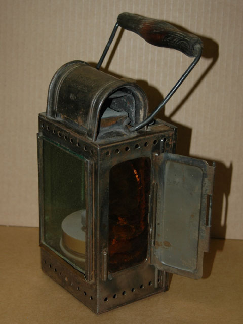 German WW II Railroad Lantern
