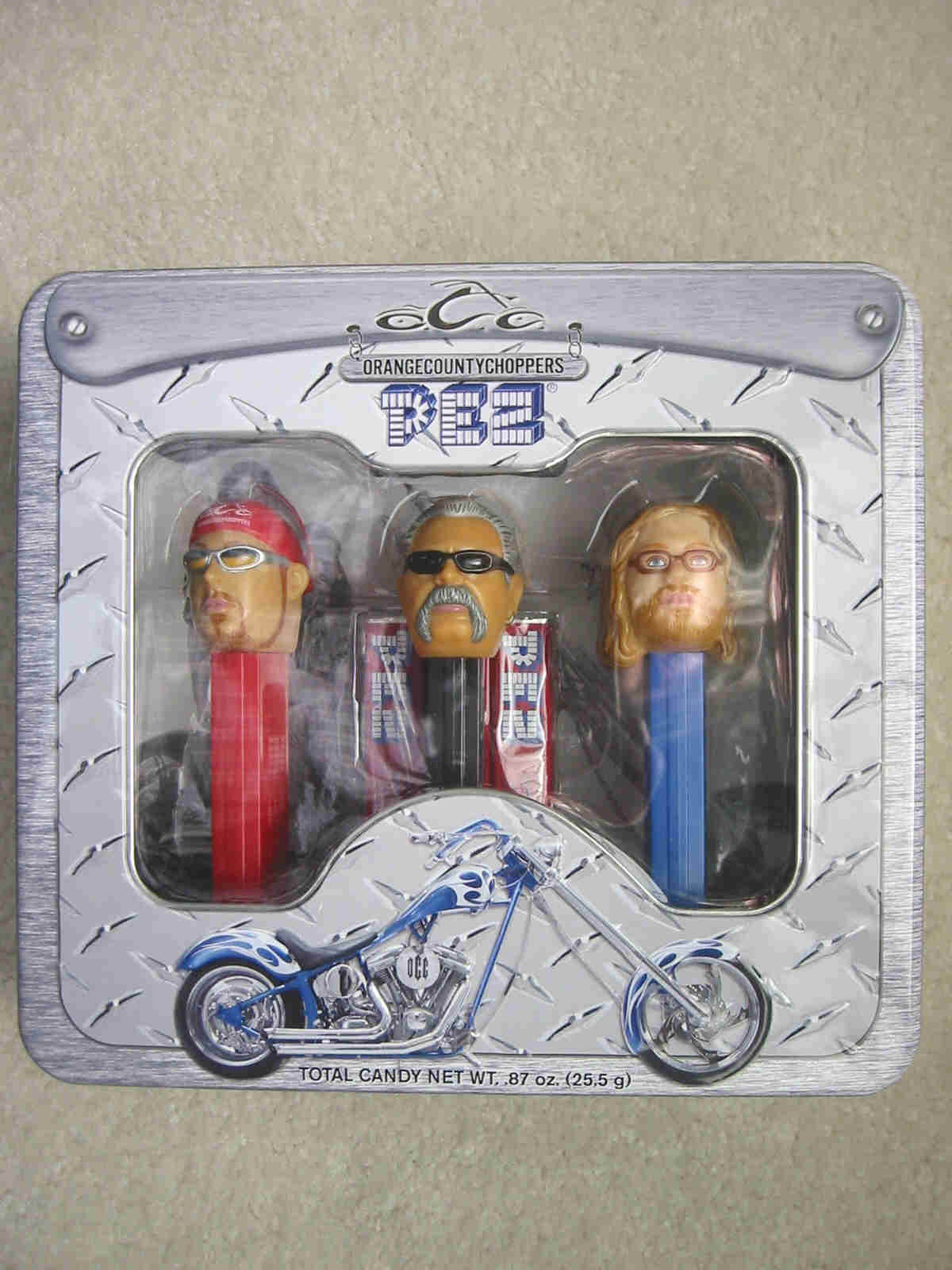Orange County Choppers Pez Set