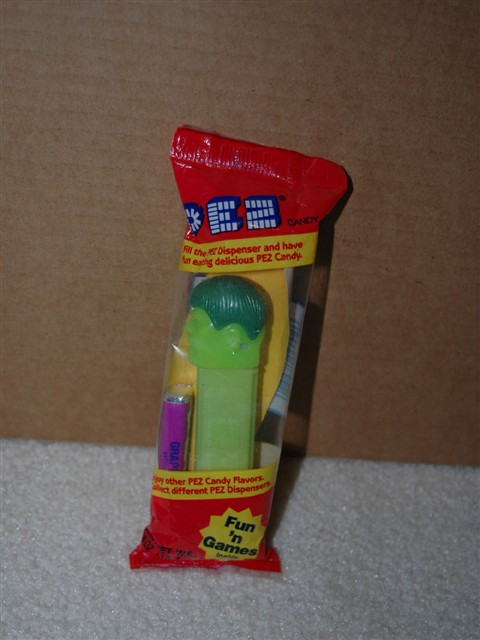 Hulk Pez - Original Version (MIB)