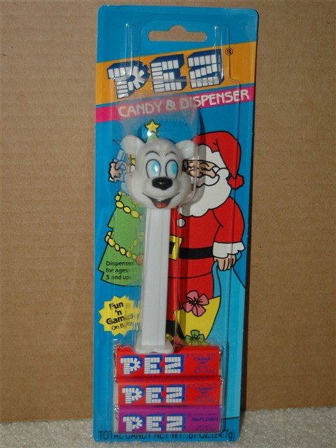 Xmas Icee Bear, First U.S. Version (MOC)