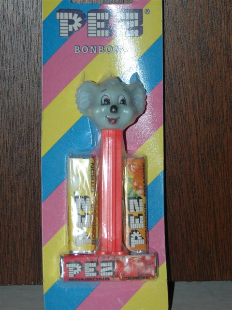 Kooky Zoo Animals - Blinky Bill Pez