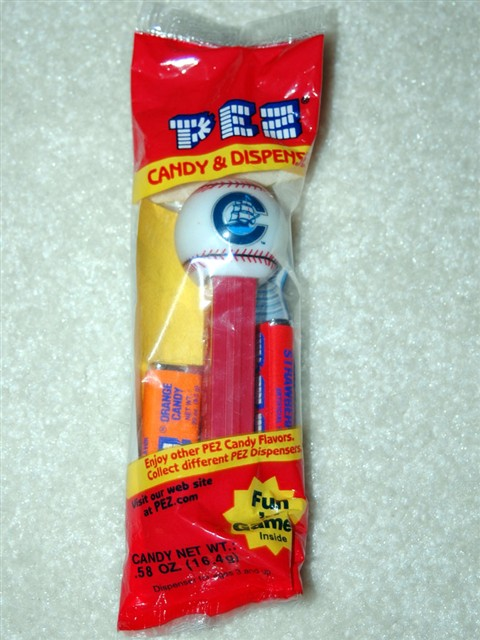 Pez Baseball - Columbus Clippers (MIB)