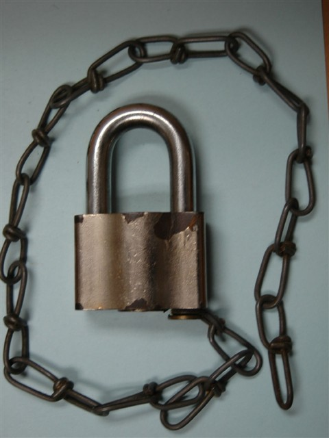 Sargent & Greenleaf Railroad Padlock