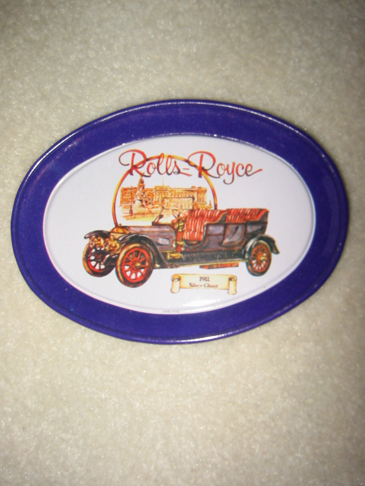 Rolls Royce Tin Tip Tray