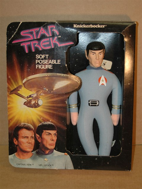 Star Trek Mr. Spock Poseable Figure